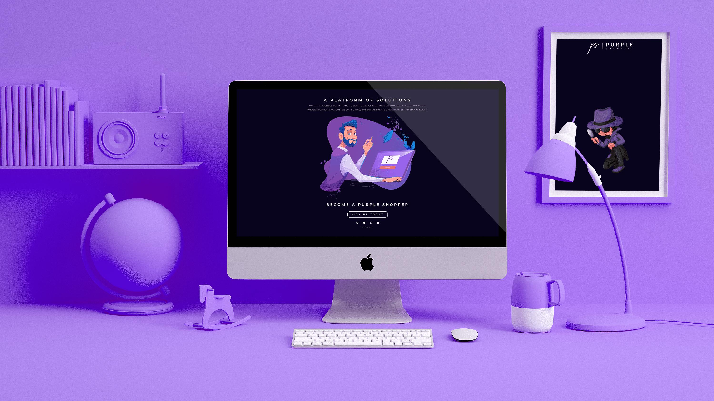 purple mockup optimized