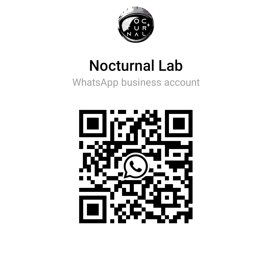 WhatsApp QR code from Nocturnal Lab 44 7310 150917 2