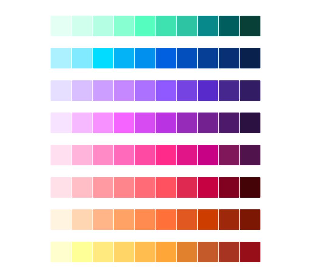 Firefox Colour Palette